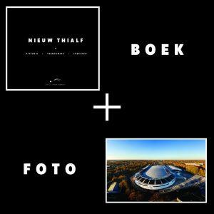 Nieuw Thialf boek plus foto