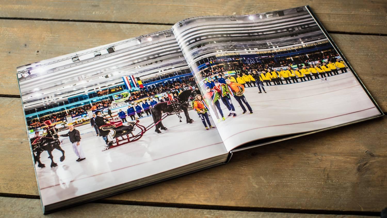 Nieuw Thialf boek verbouwing catch your moment ikraft design